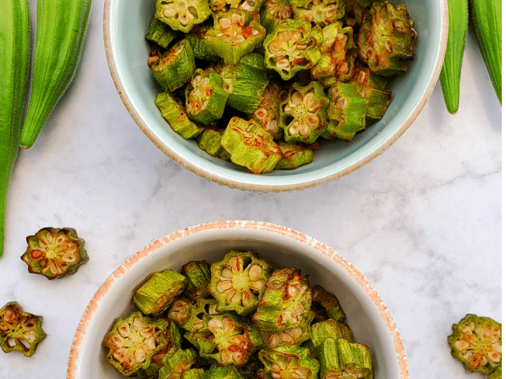 Air Fried Okra