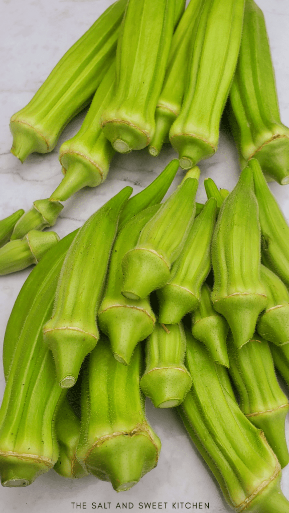 Okra air fryer recipes