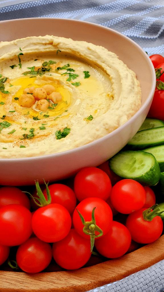 Hummus recipe homemade- Hummus platter- Homemade hummus recipe