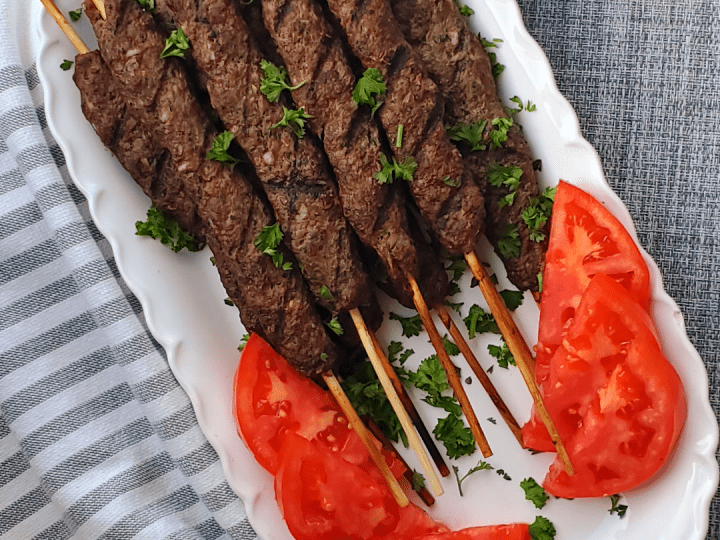 Kafta Kabob recipe Lebanese or Kofta recipe. #kefta