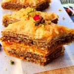 Making Baklava from scratch is a snap. This Baklava recipe has the best sugar syrup recipe as well. #lebanesebaklavarecipe