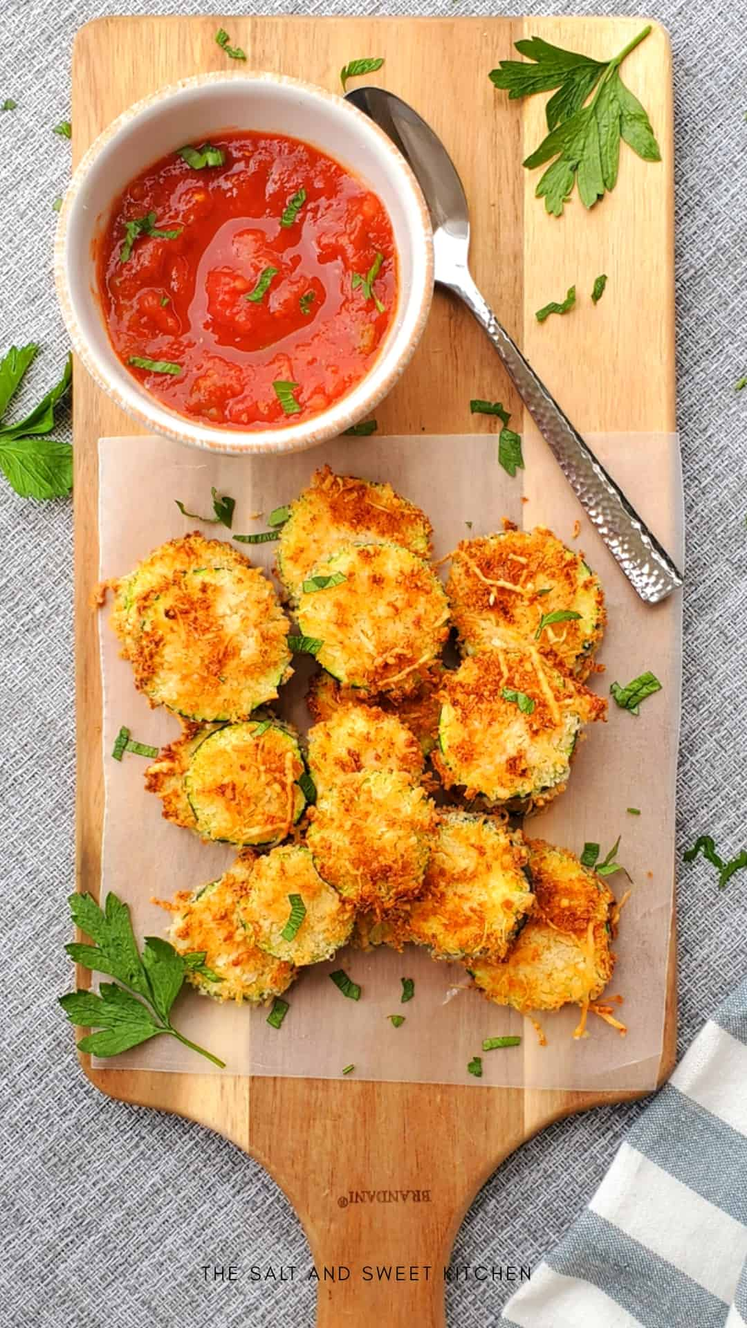 Air-Fried Zucchini Chips