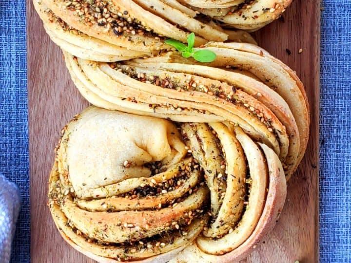 zaatar swirl bread is one of my favorite zaatar recipes.