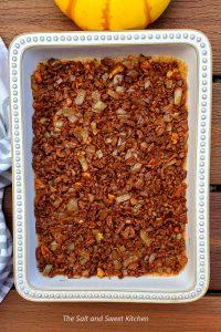 Lebanese pumpkin Kibbeh