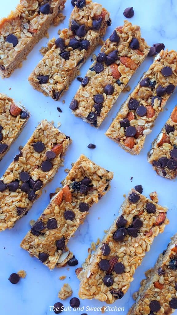 If you are looking for no bake recipes, you will love this no bake granola bars recipe.
