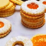 If you are looking for Jam recipes, you will love these jam filled cookies recipe. #sablerecipe