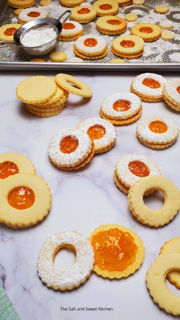 If you are looking for jam recipes, you will love these jam shortbread cookies.