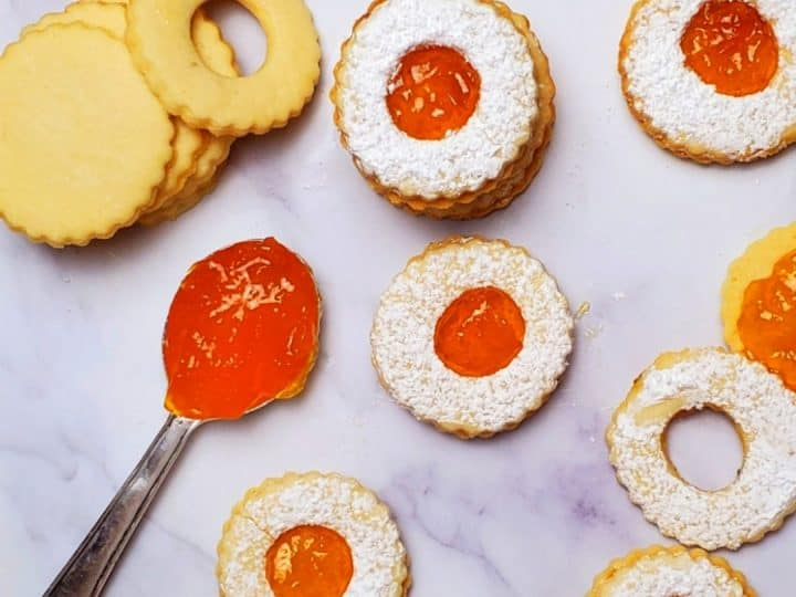 If you are looking for jam recipes, you will love this jam filled cookies recipe. The perfect holiday and Christmas cookies recipe.