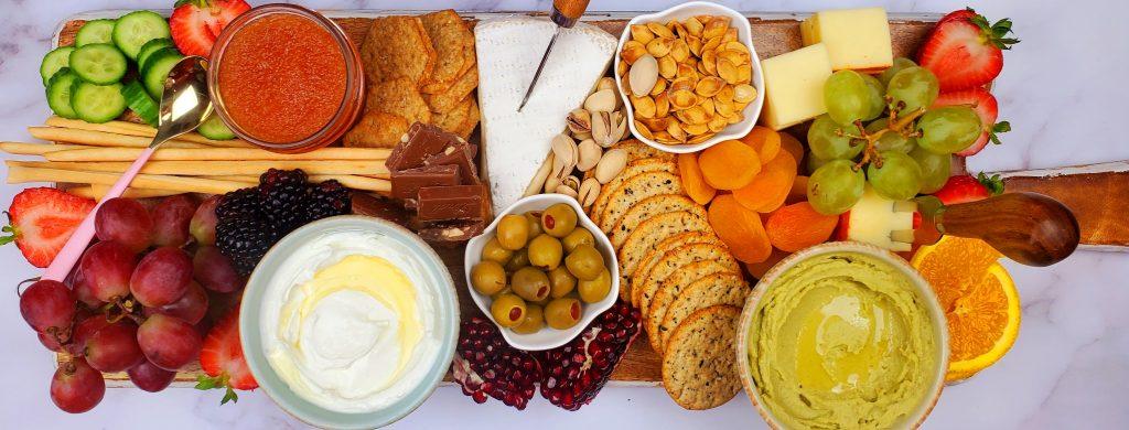 food platter ideas.