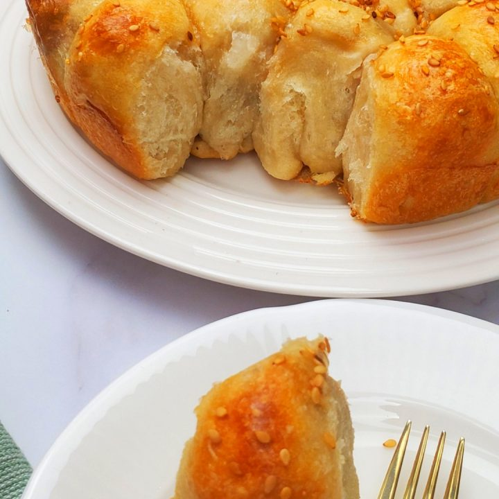 Beehive Bread recipe/ Olive and cheese bread.
