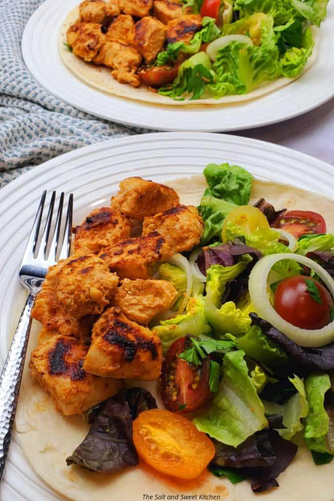Lebanese chicken tawook recipe.