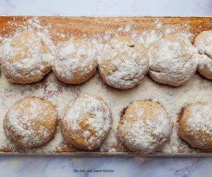 The best homemade dough.