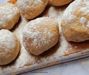 homemade manakish dough