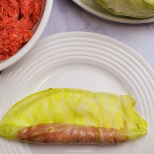 How to make stuffed cabbage.