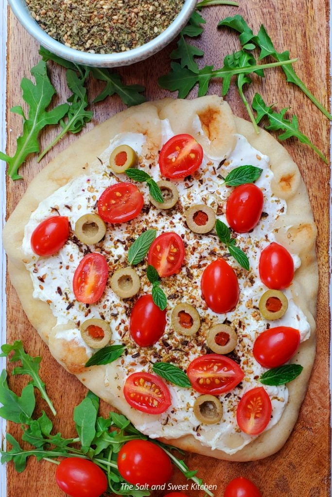 If you are looking with flatbread recipes, you will love this labneh flatbread recipe.