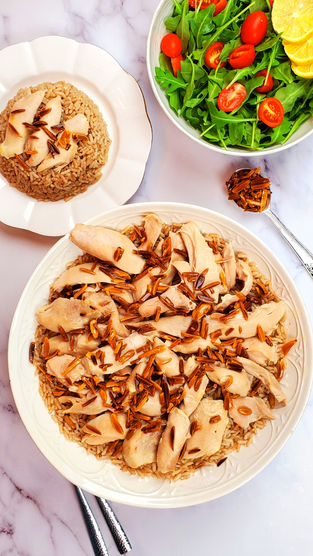 Lebanese Chicken and Rice