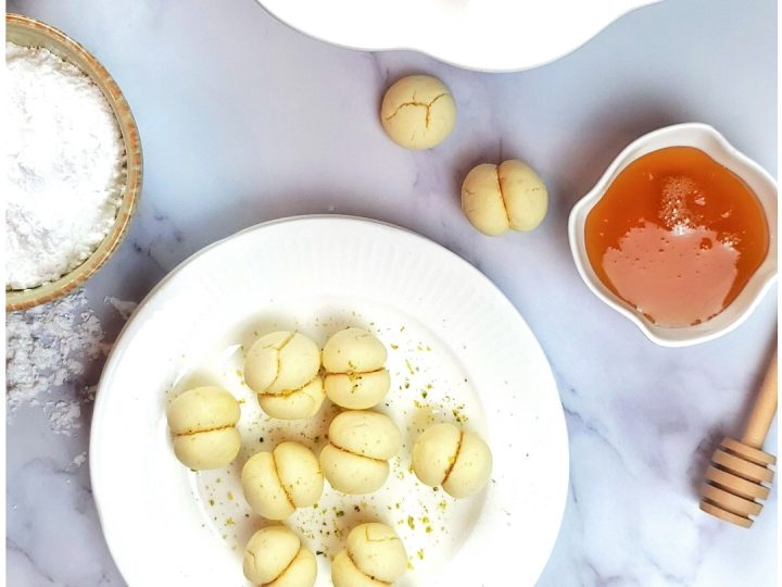 Are you looking for a great butter cookies recipe, you will love those melting moments cookies!