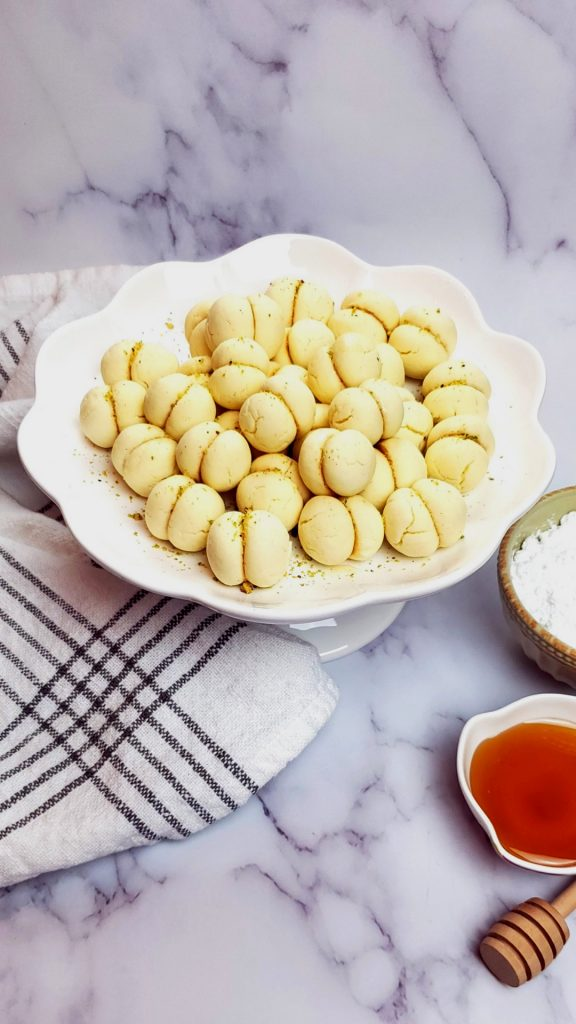Butter cookies melt in your mouth recipe.