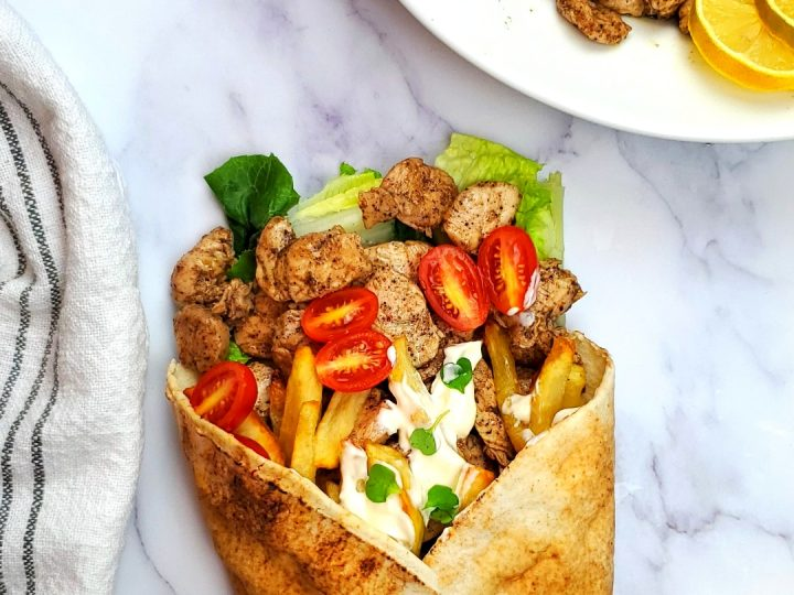 How to make authentic chicken shawarma.