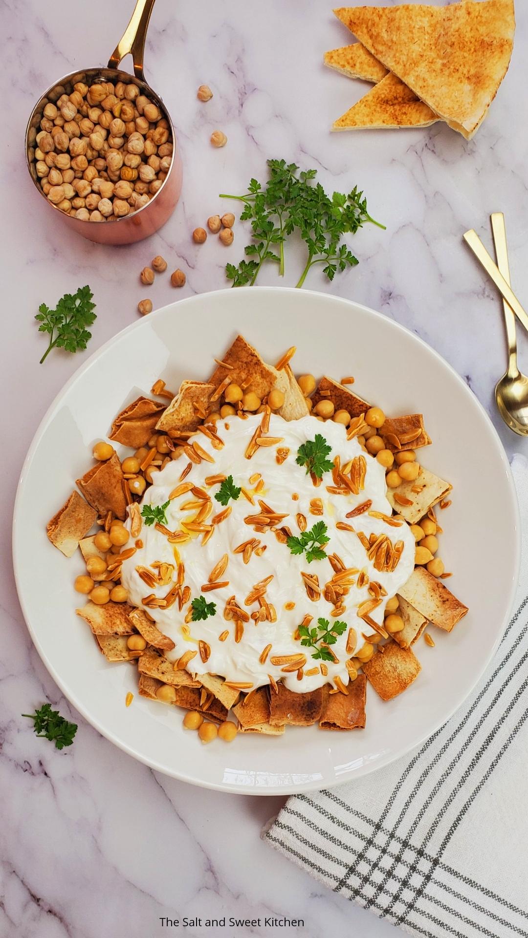 Chickpea Fatteh- Fattet Hummus