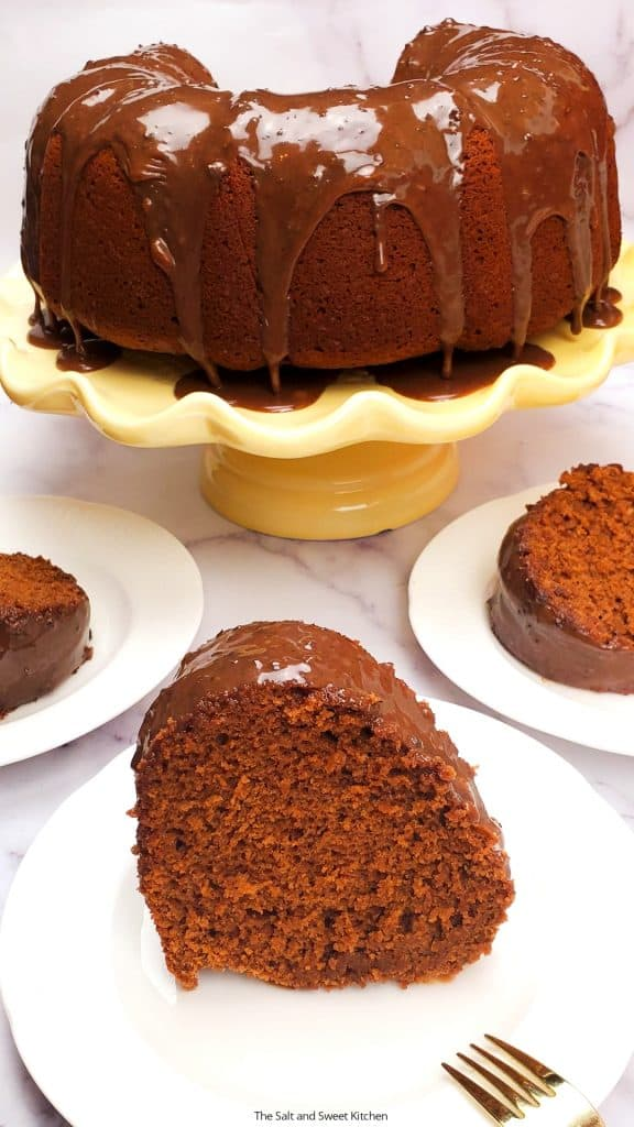 Are you looking for easy chocolate cake from scratch? Then you will love this homemade chocolate cake recipe. This cake is fudgy, chocolatey, full of flavor, moist and delicious!