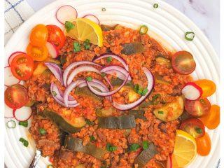 Bulgur Zucchini Pilaf