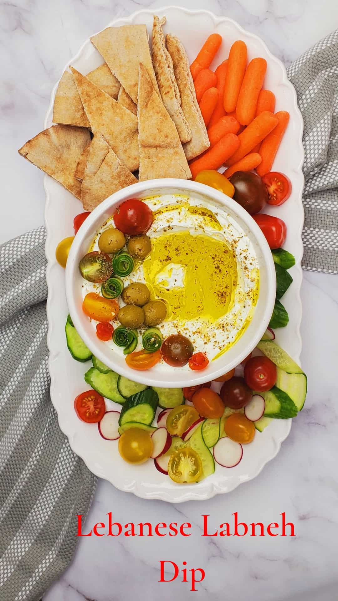 if you are looking for Lebanese dip recipes, you will love this Labneh recipe.