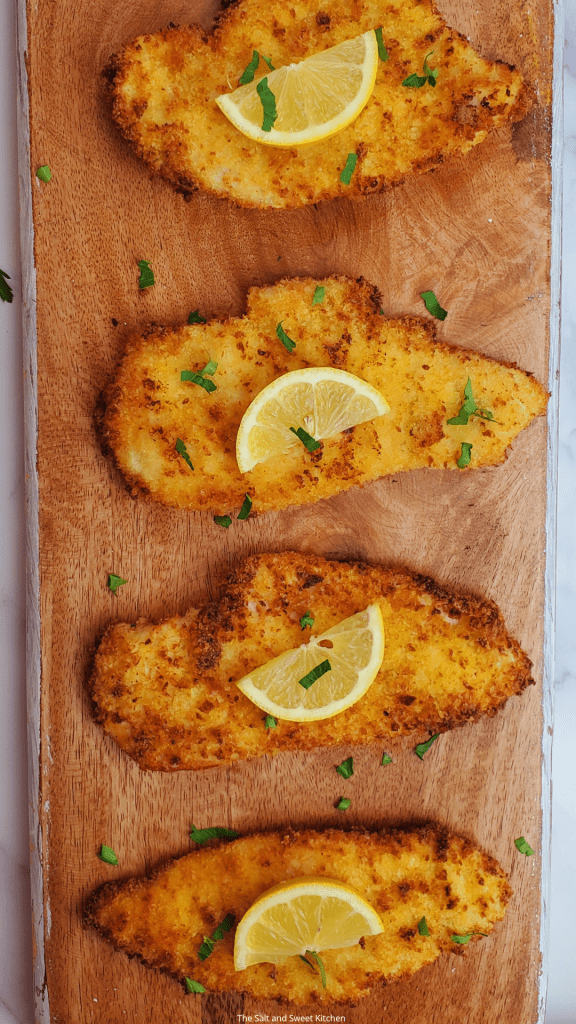 if you are looking for air fryer chicken breast recipes, then you will love this breaded chicken cutlet recipe.