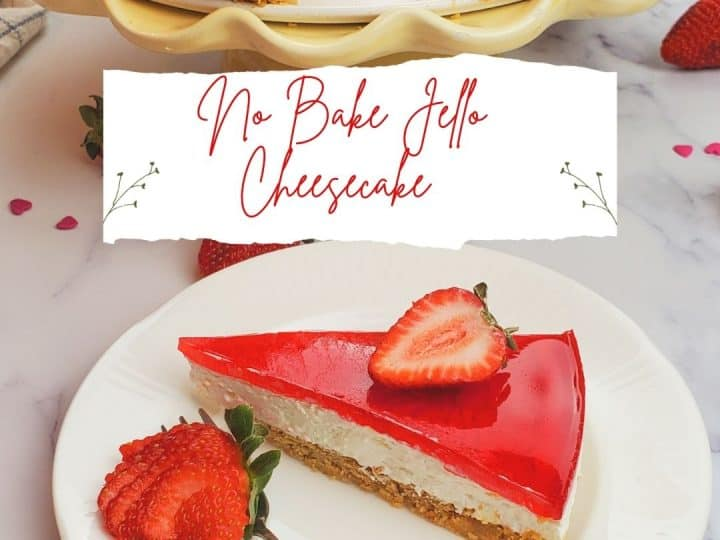 Jello cheesecake recipes no bake.