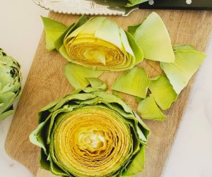 how to clean artichokes by the salt and sweet kitchen
