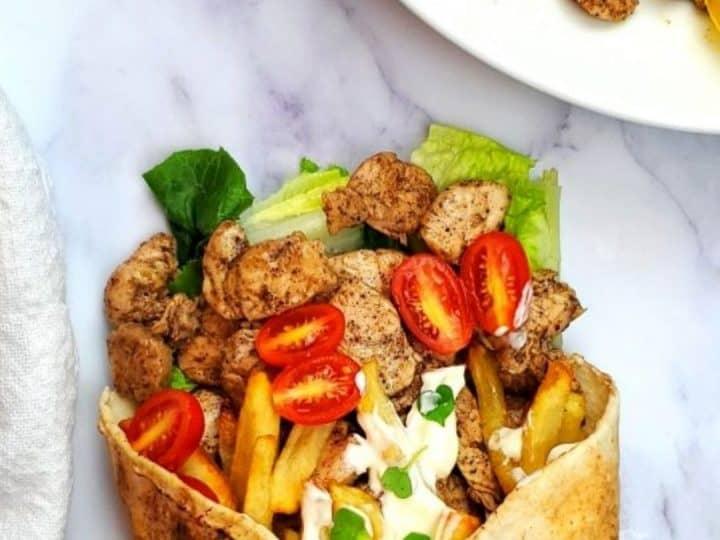 Chicken Sahwarma Lebanese