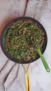 spinach stew Lebanese