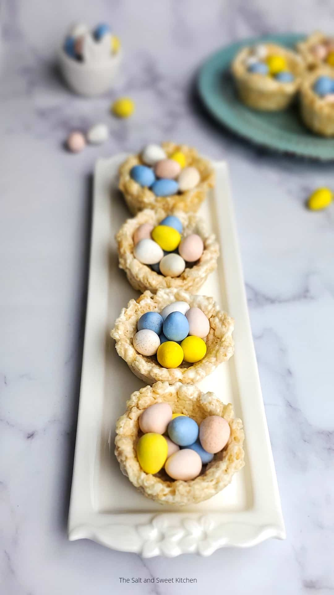 Easter Rice Krispies Nests