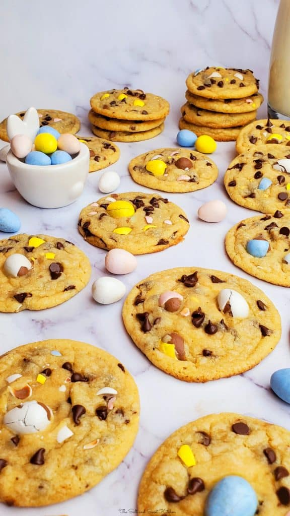 Easy Easter recipe-Easter cookies- Easter chocolate chip