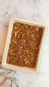 baked kibbeh layer of hashweh