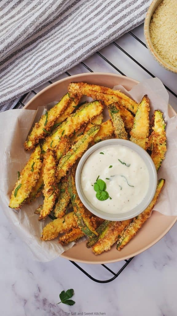 zucchini fries air fryer