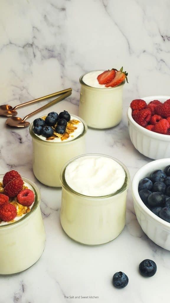 homemade yogurt- yogurt from scratch