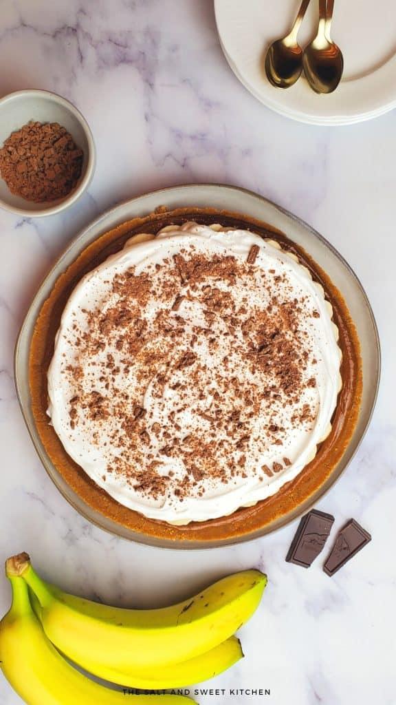 Banoffee Pie recipe- British pie