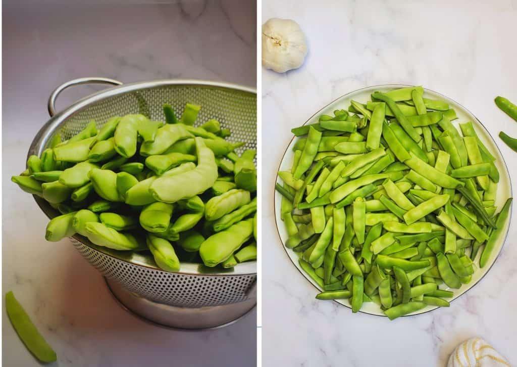 Italian green beans- loubie